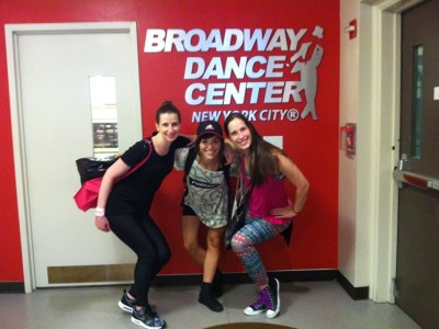 At Broadway Dance Center, New York, 2015