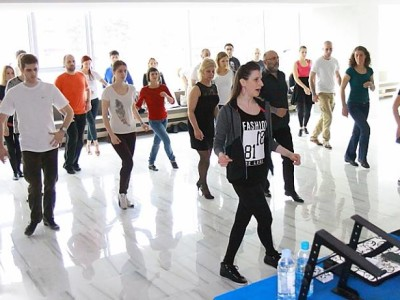 Workshop at Valentines's Zagreb Salsa Festival, 2015
